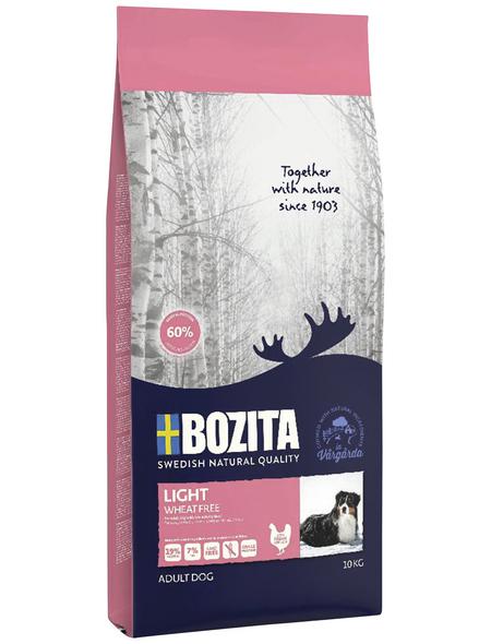 BOZITA Hundetrockenfutter »Naturals Light«, 1 Beutel à 10000 g
