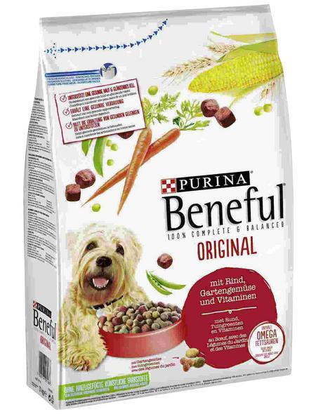 BENEFUL Hundetrockenfutter »Original«, 3 kg, Rind