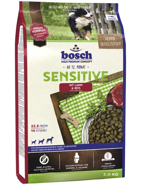 BOSCH PETFOOD Hundetrockenfutter »Sensitive«, 3 kg, Fleisch