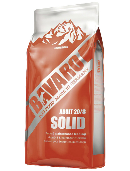 BAVARO Hundetrockenfutter »Solid«, 1 Beutel à 18000 g
