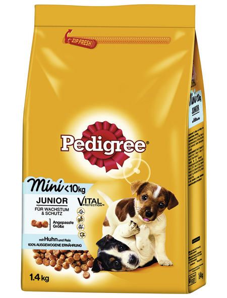 PEDIGREE Hundetrockenfutter »Vital Protection Mini«, Huhn, 6x1,4 kg