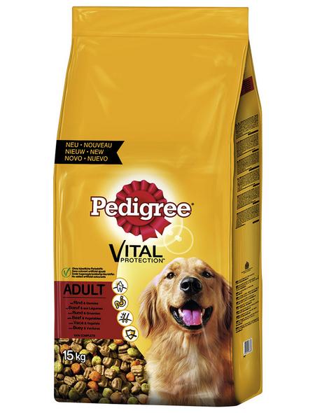 PEDIGREE Hundetrockenfutter »Vital Protection «, Rind / Gemüse, 15 kg