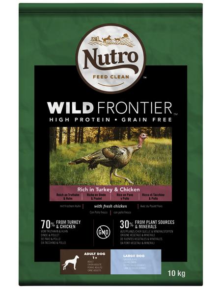 NUTRO Hundetrockenfutter »Wild Frontier«, Truthahn / Huhn, 10 kg