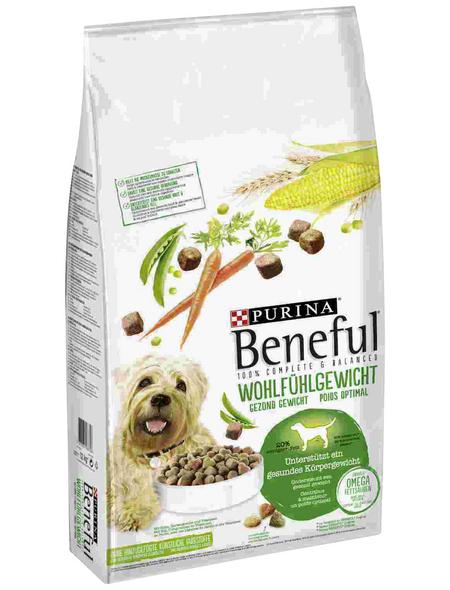 BENEFUL Hundetrockenfutter »Wohlfühlgewicht«, 12 kg, Huhn