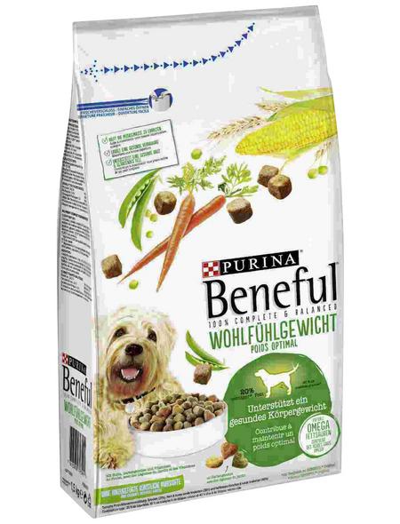 BENEFUL Hundetrockenfutter »Wohlfühlgewicht«, 1,5 kg, Huhn