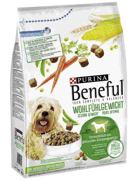 BENEFUL Hundetrockenfutter »Wohlfühlgewicht«, 3 kg, Huhn