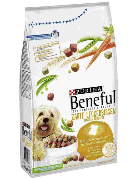 BENEFUL Hundetrockenfutter »Zarte Leckerbissen«, 1,4 kg, Rind