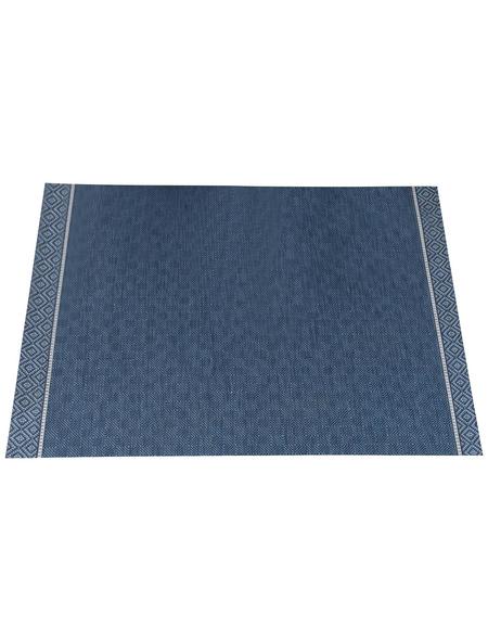 GARDEN IMPRESSIONS In- und Outdoor Teppich, BxL: 170 x 120 cm, bluejeans