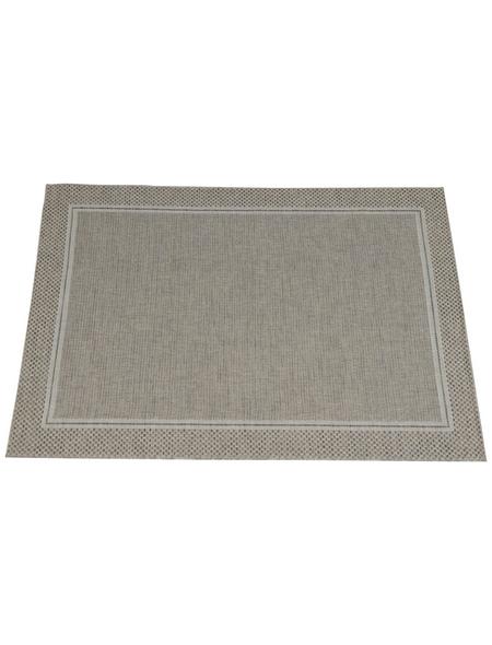 GARDEN IMPRESSIONS In- und Outdoor Teppich, BxL: 170 x 120 cm, natural sand