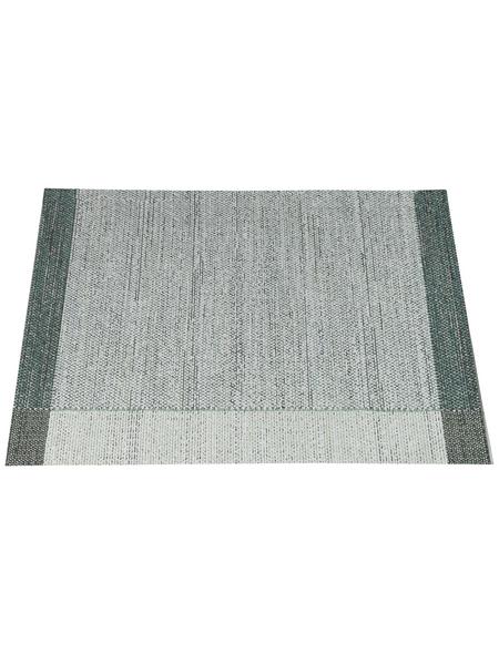 GARDEN IMPRESSIONS In- und Outdoor Teppich, BxL: 290 x 200 cm, grün/weiß/grau