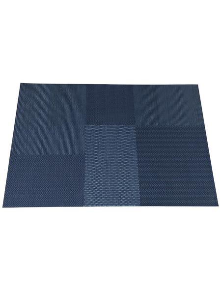GARDEN IMPRESSIONS In- und Outdoor Teppich »Martinet«, BxL: 170 x 120 cm, bluejeans/blau/dunkelblau
