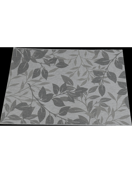 GARDEN IMPRESSIONS In- und Outdoor Teppich »Naturalis«, BxL: 170 x 120 cm, forest leaf/grau