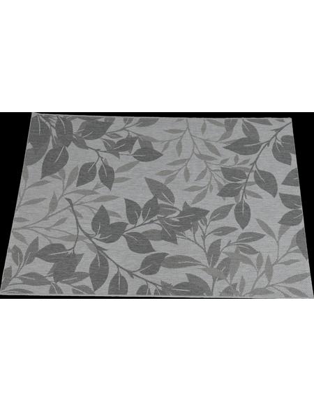 GARDEN IMPRESSIONS In- und Outdoor Teppich »Naturalis«, BxL: 230 x 160 cm, forest leaf/grau