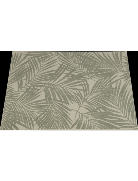 GARDEN IMPRESSIONS In- und Outdoor Teppich »Naturalis«, BxL: 230 x 160 cm, tropical leaf/braun