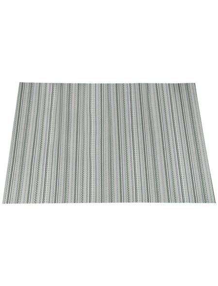 GARDEN IMPRESSIONS In- und Outdoor Teppich »Striped Beach «, BxL: 230 x 160 cm, grün/weiß/rot/grau