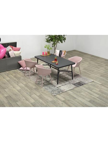 GARDEN IMPRESSIONS In- und Outdoor Teppich »Teppich«, BxL: 230 x 160 cm, rosa