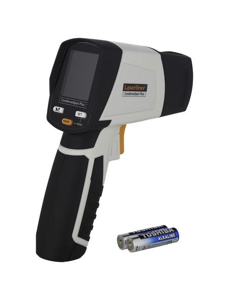 laserliner® Infrarot-Thermometer »CondenseSpot Plus«, grau/schwarz