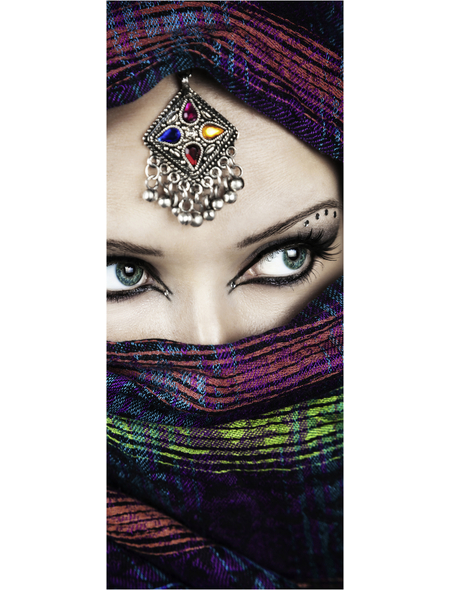 MARMONY Infrarotheizung »Arabic Eyes 2 - Arabic Eyes «, Matt