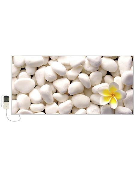 EL FUEGO Infrarotheizung »AY6922 - Steine | Blütenblätter«