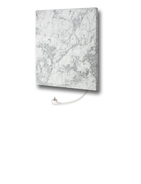 MARMONY Infrarotheizung »Carrara C480 Plus - ohne Motiv«, Glänzend