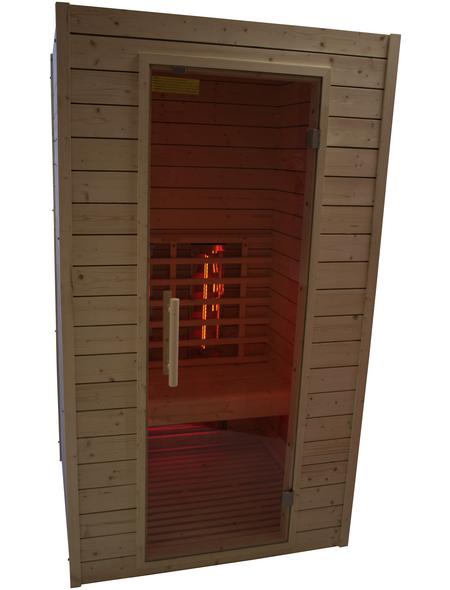 RORO Infrarotkabine »Lechtal« für 2 Personen, Fronteinstieg, mit Farblichtanwendung