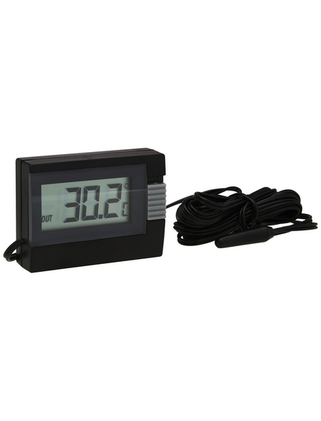 tfa® Innen-Außen-Thermometer digital Kunststoff 5,4 x 3,9 x 1,6 cm