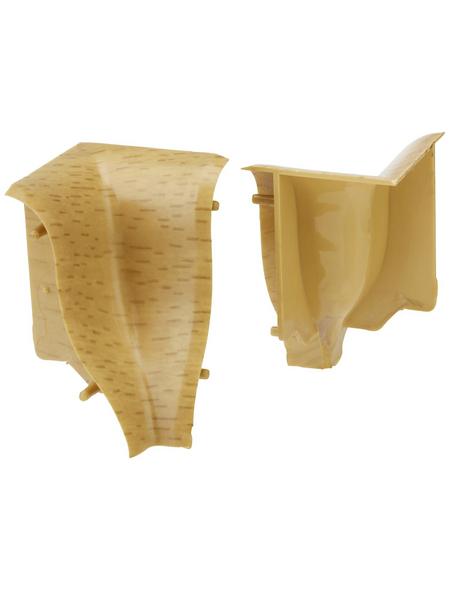 FN NEUHOFER HOLZ Innenecke »KU04«, (2 Stk.) aus Kunststoff, für Sockelleisten