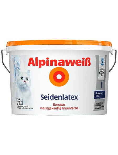 ALPINA Innenfarbe »Alpinaweiß«, Weiß, seidenglänzend