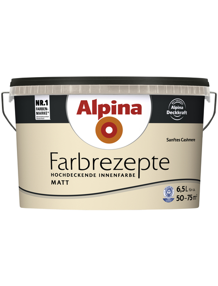 ALPINA Innenfarbe »Farbrezepte«, Sanftes Cashmere, matt