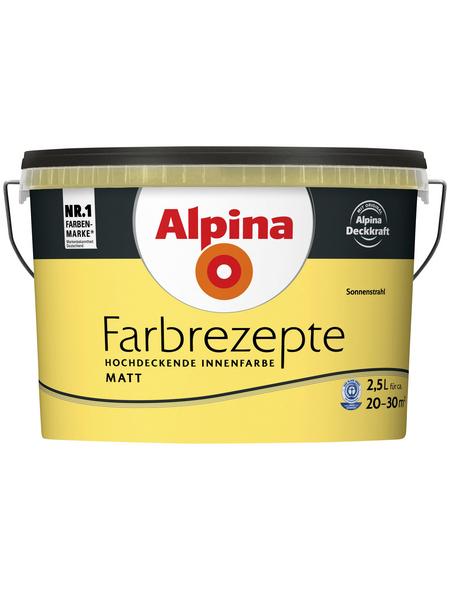ALPINA Innenfarbe »Farbrezepte«, Sonnenstrahl, matt