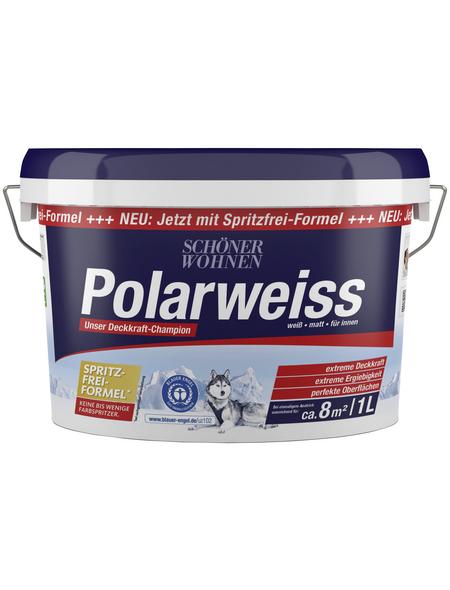 SCHÖNER WOHNEN FARBE Innenfarbe »Polarweiss«, matt