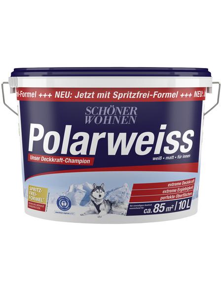 SCHÖNER WOHNEN Innenfarbe »Polarweiß«, Weiß, matt