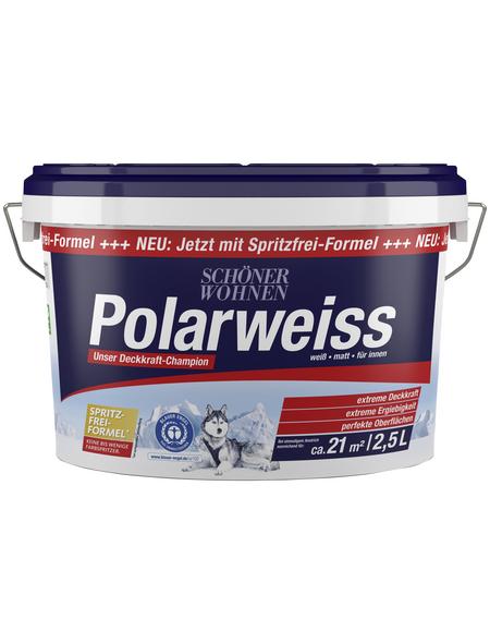 SCHÖNER WOHNEN Innenfarbe »Polarweiss«, Weiß, matt
