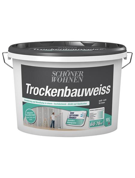 Innenfarbe »Trockenbauweiss«, ca. 35 m² m² f