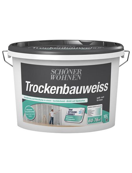 Innenfarbe »Trockenbauweiss«, ca. 70 m² m² f
