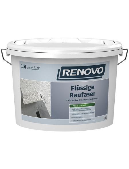 RENOVO Innenfarbe, weiß, 10 l, ca. 3,33 m²