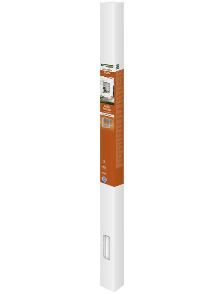 WINDHAGER Insektenschutz Rollo Fenster, BxL: 160 x 160 cm, In Breite und Höhe kürzbar