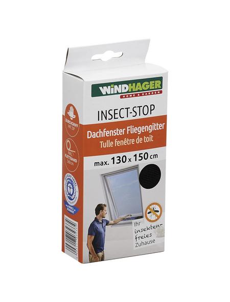 WINDHAGER Insektenschutzgitter »Insect-Stop«, Format: 130 x 150 cm, In Breite und Höhe kürzbar