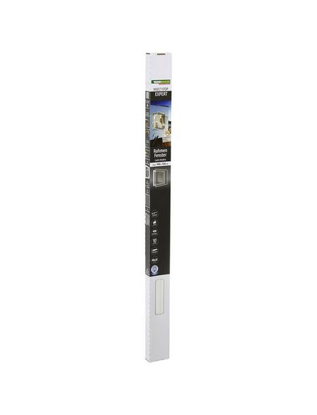 WINDHAGER Insektenschutzrahmen »EXPERT«, Format: 100 x 120 cm, In Breite und Höhe kürzbar