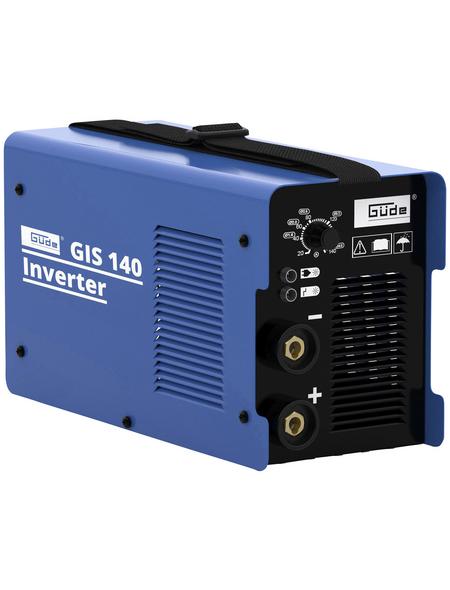 GÜDE Inverterschweißgerät »GIS 140«, 230 V