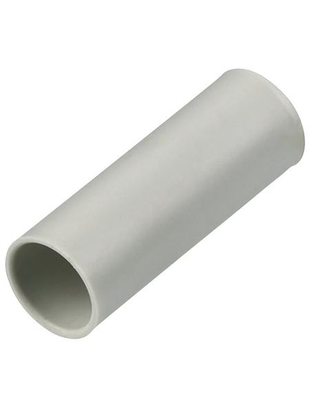 REV Iso-Muffe, starr, Grau, Kunststoff