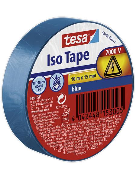 TESA Isolierband, blau, Breite: 1,5 cm, Länge: 10 m
