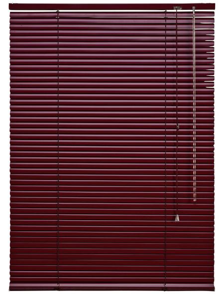 LIEDECO Jalousie, Bordeaux, 90x220 cm