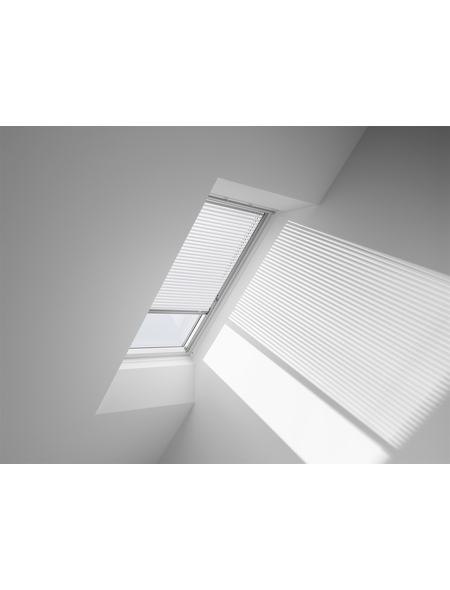VELUX Jalousie, PAL U08 7001S, Weiß, 134 x 140 cm
