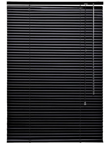 LIEDECO Jalousie, Schwarz, 80x160 cm