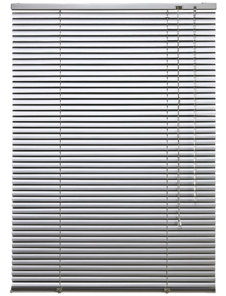 LIEDECO Jalousie, Silber, 160x160 cm