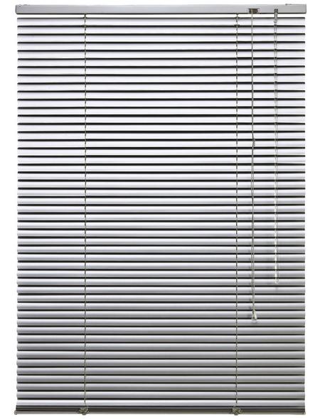 LIEDECO Jalousie, Silber, 200x160 cm