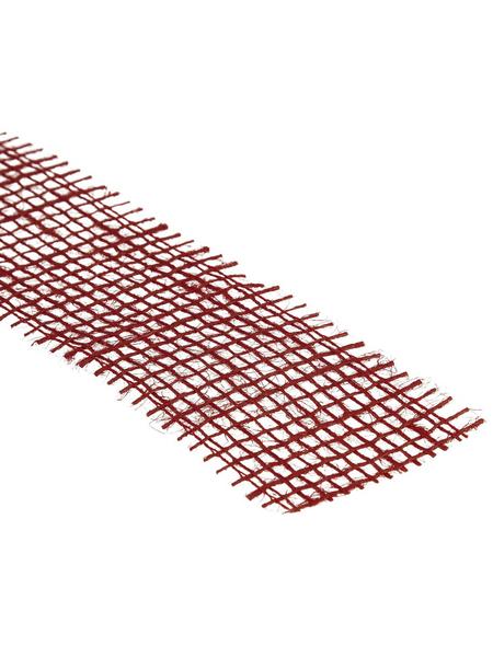 DIJK NATURAL COLLECTIONS Juteband rot 200 x 5 cm