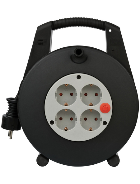 Brennenstuhl® Kabelbox »Vario Line«, 4-fach, 15 m