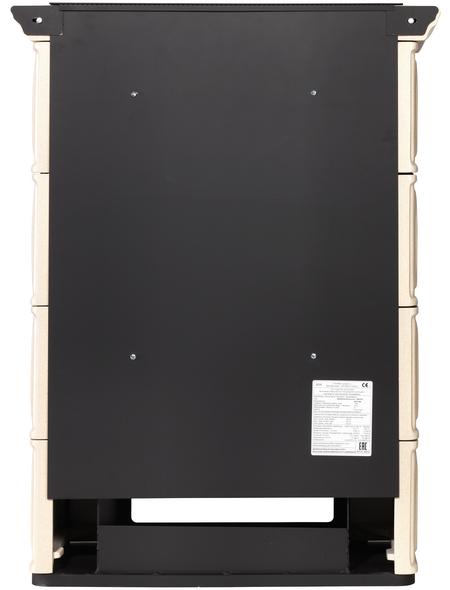 THORMA Kachelofen »Augsburg«, 7 kW, schwarz/beige